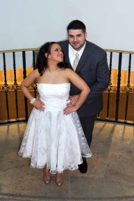 bride and groom-wedding photos-perth amboy municipal court