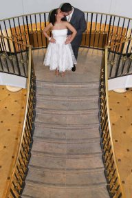 wedding photos-bride and groom-perth amboy municipal court