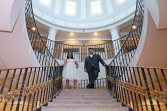bride and groom-wedding photography-perth amboy municipal court