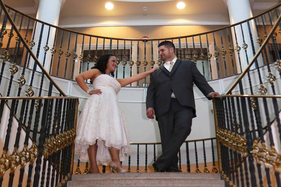 bride and groom-wedding photography-perth amboy municipal court