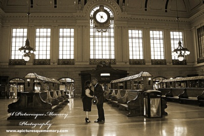 #weddings #apicturesquememoryphotography #engagement #bridetobe #groomtobe #weddingphotography #njwedding #engagementphotos #weddingphoto #hobokenterminal #hobokentrainstation