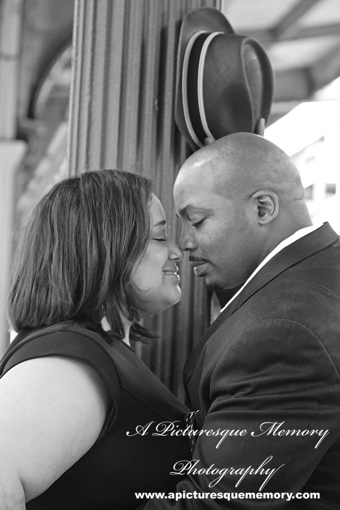 #weddings #apicturesquememoryphotography #engagement #bridetobe #groomtobe #weddingphotography #njwedding #engagementphoto #weddingphoto #hobokenterminal #hobokentrainstation