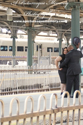 #weddings #apicturesquememoryphotography #engagement #bridetobe #groomtobe #weddingphotography #njwedding #engagementphoto #weddingphoto #hobokenterminal