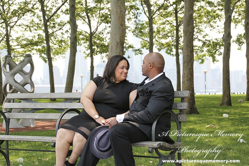 #weddings #apicturesquememoryphotography #engagement #bridetobe #groomtobe #weddingphotography #njwedding #engagementphoto #weddingphoto #hobokenterminal #hobokenpiers