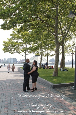 #weddings #apicturesquememoryphotography #engagement #bridetobe #groomtobe #weddingphotography #njwedding #engagementphotos #weddingphoto #hobokenterminal #hobokenpiers