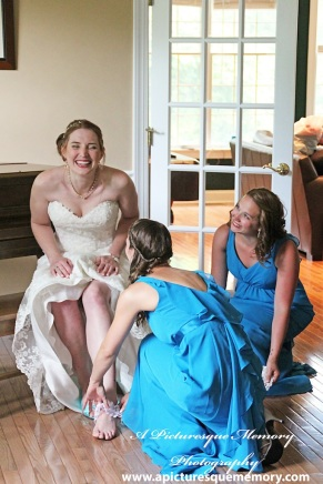 #bride, #bridalprep, #garter, #justmarried, #njwedding, #apicturesquememoryphotography, #weddingphotography, #weddings
