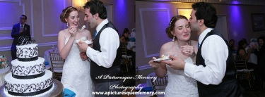 #brideandgroom, #cakecutting, #justmarried, #njwedding, #apicturesquememoryphotography, #weddingphotography, #weddings