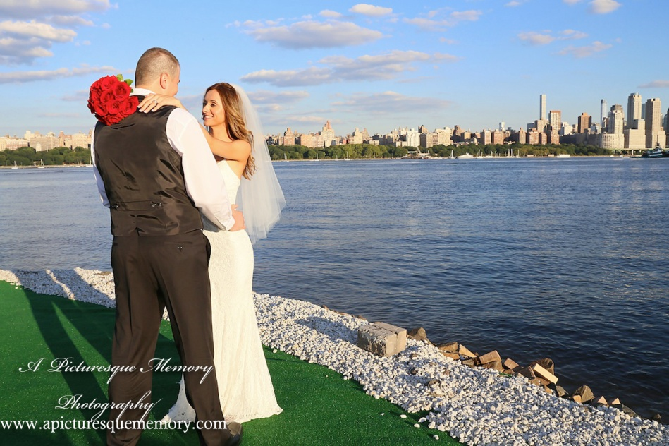 #brideandgroom, #justmarried, #njwedding, #apicturesquememoryphotography, #weddingphotography, #weddings, #watersiderestaurant, #northbergennj, #nyc