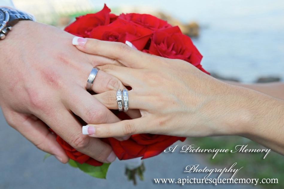 #brideandgroom, #justmarried, #njwedding, #apicturesquememoryphotography, #weddingphotography, #weddings, #engagementring, #weddingbands