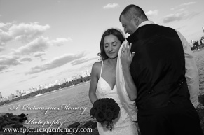 #brideandgroom, #justmarried, #njwedding, #apicturesquememoryphotography, #weddingphotography, #weddings, #northbergennj, #weddinginspo, #watersiderestaurant