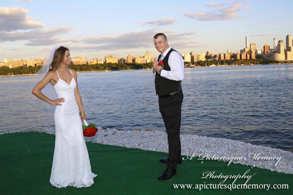 #brideandgroom, #justmarried, #njwedding, #apicturesquememoryphotography, #weddingphotography, #weddings, #love, #nycskyline, #northbergennj