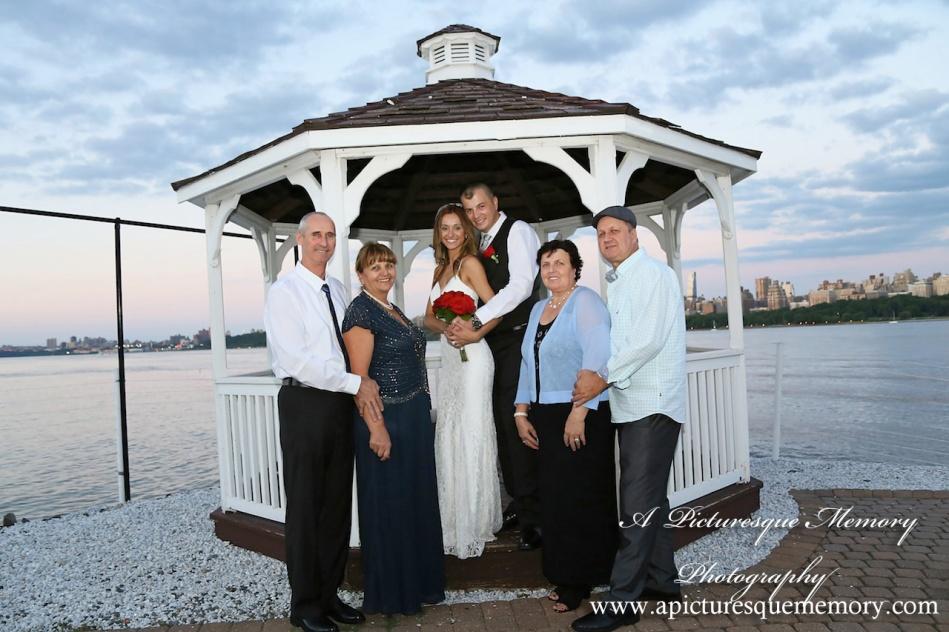 #brideandgroom, #justmarried, #njwedding, #apicturesquememoryphotography, #weddingphotography, #weddings, #gazebo, watersiderestaurant
