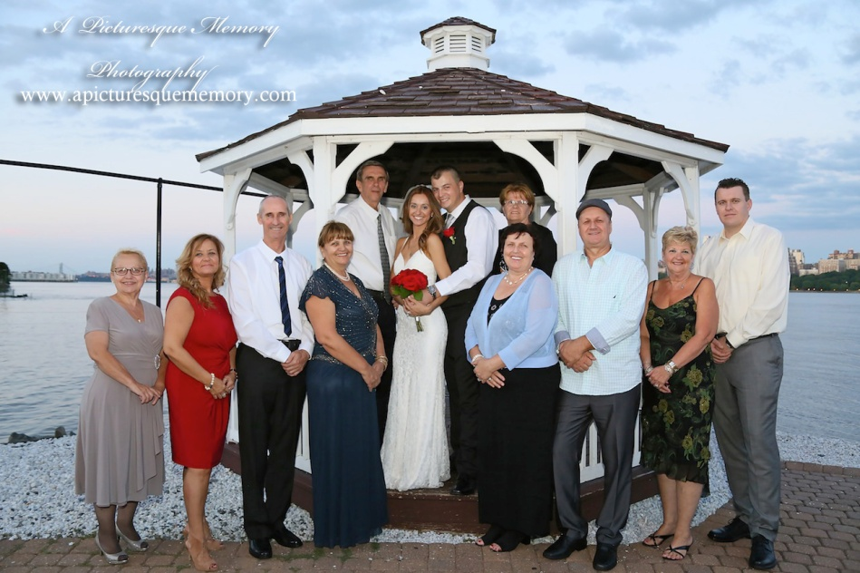 #brideandgroom, #justmarried, #njwedding, #apicturesquememoryphotography, #weddingphotography, #weddings, #watersiderestaurant, #gazebo