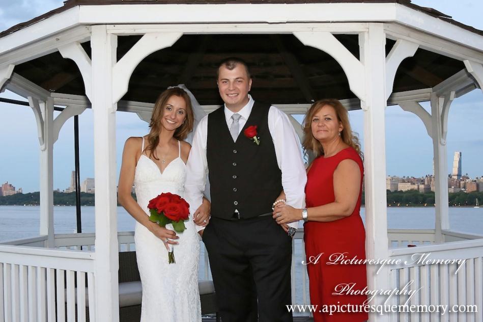 #brideandgroom, #justmarried, #njwedding, #apicturesquememoryphotography, #weddingphotography, #weddings, #maidofhonor, #gazebo, #watersiderestaurant