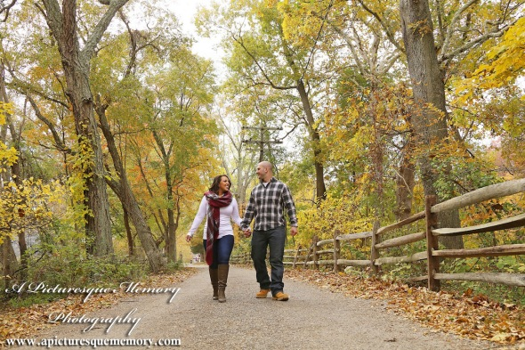 #weddingphotographer, #engagement, #engagementpictures, #engaged, #justengaged, #bridetobe, #groomtobe, #rustic, #walkinthepark, #apicturesquememoryphotography, #allairestatepark