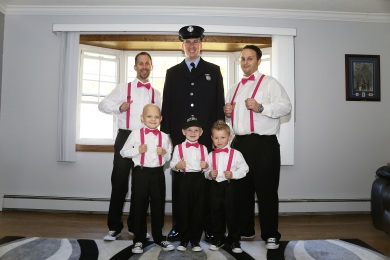 #njwedding, #apicturesquememoryphotography, #weddings, #njweddingphotography, #firefighterwedding, #groomsmen, #ringbearer, #ringsecurity, #pomptonlakesnjwedding