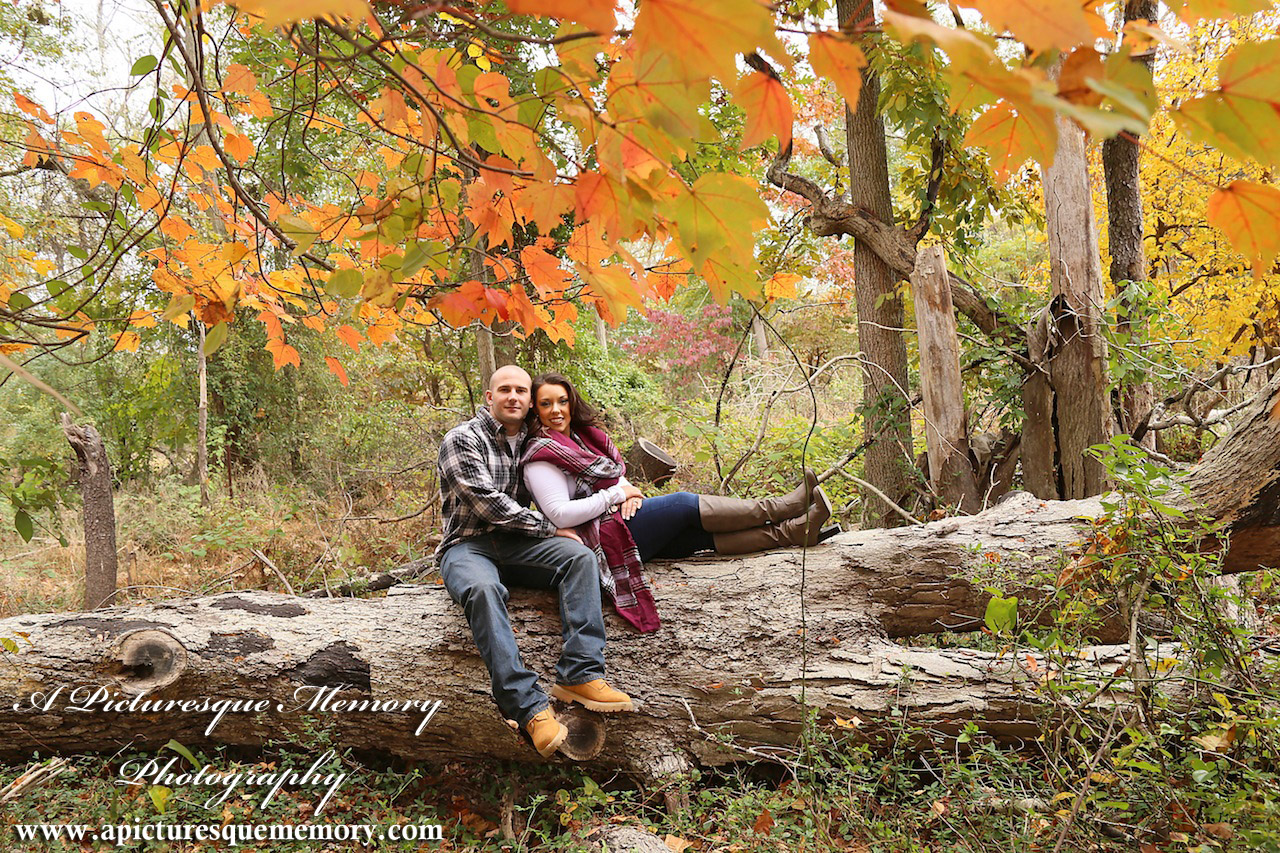 #weddingphotographer, #engagement, #engagementpictures, #engaged, #justengaged, #bridetobe, #groomtobe, #rusticengagement, #fallleaves, #apicturesquememoryphotography, #allairestatepark