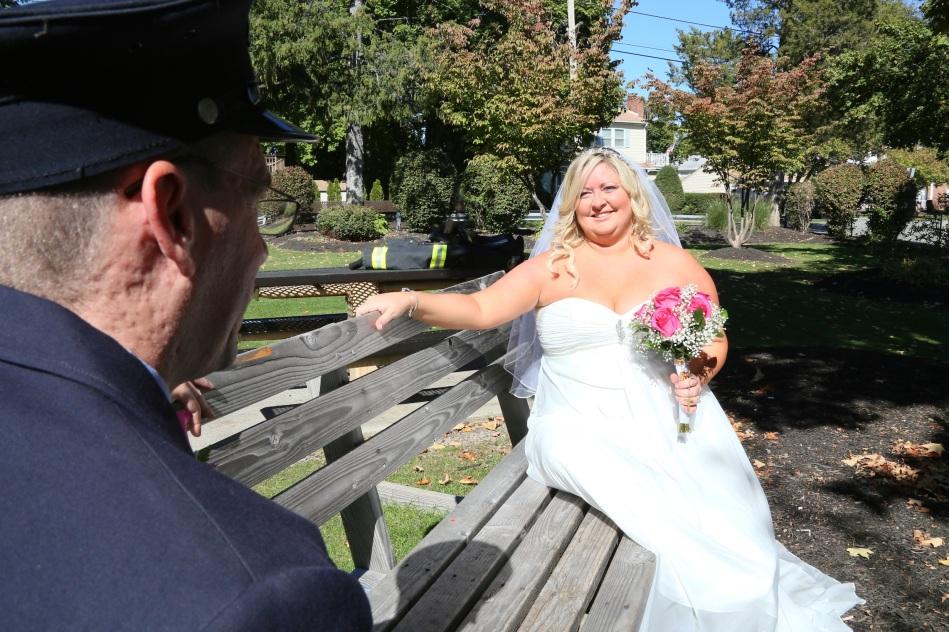 #justmarried, #njwedding, #apicturesquememoryphotography, #weddings, #firefighterwedding, #pomptonlakesnjwedding, #njweddingphotography, weddingphotographer, #brideandgroom