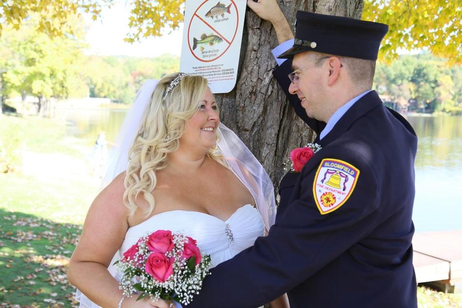 #justmarried, #njwedding, #apicturesquememoryphotography, #weddings, #firefighterwedding, #pomptonlakesnjwedding, #brideandgroomphoto, #bloomfieldfirefighter
