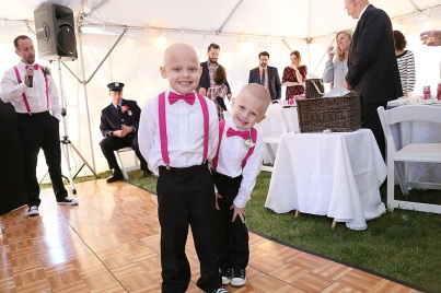 #njwedding, #backyardwedding, #photobomb, #ringbearer, #weddingphotography, #njweddingphotographer, #pomptonlakesnjwedding