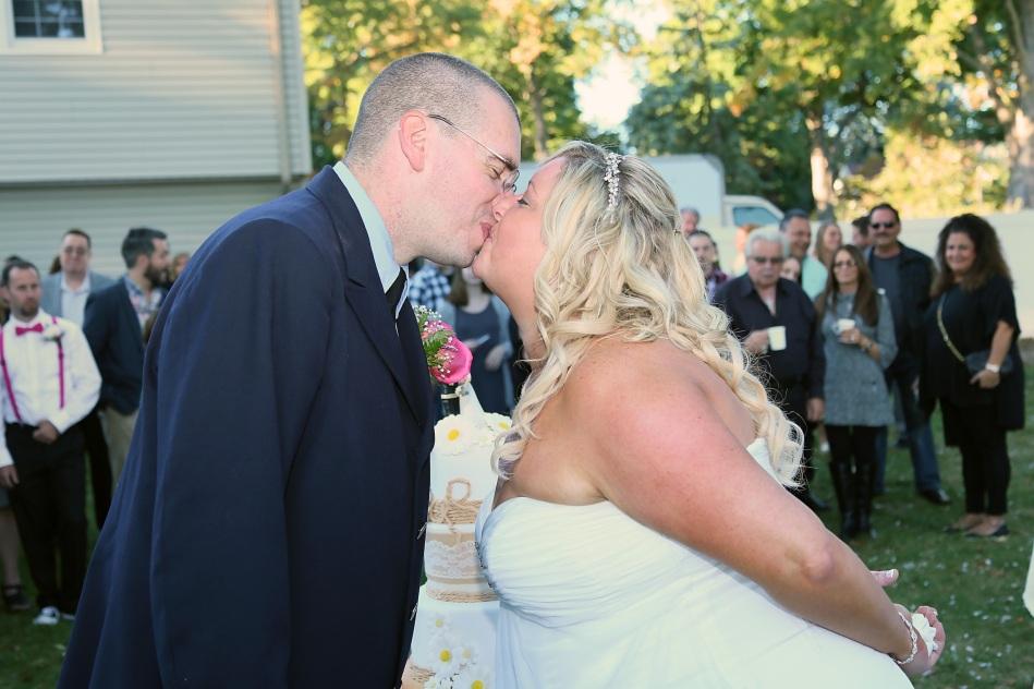 #justmarried, #njwedding, #apicturesquememoryphotography, #weddingphotography, #weddings, #cakecuttingkiss, #pomptonlakeswedding