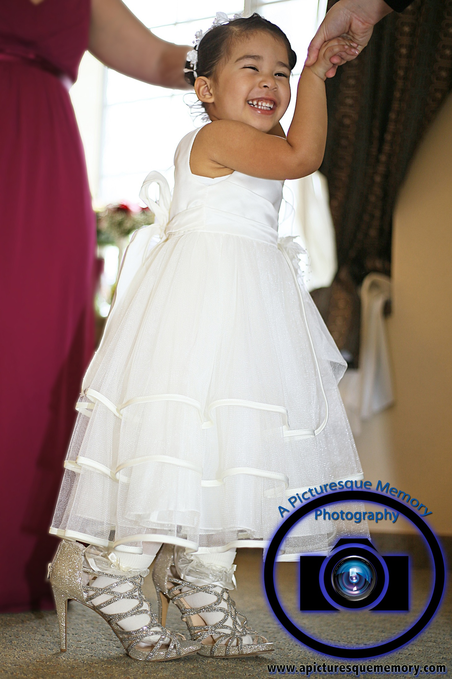 #njwedding, #njweddingphotography, #northbrunswickweddingphotographer#weddingphotos, #apicturesquememoryphotography, #staybridgesuitesweddingphotographer, #flowergirl, #bridesheels