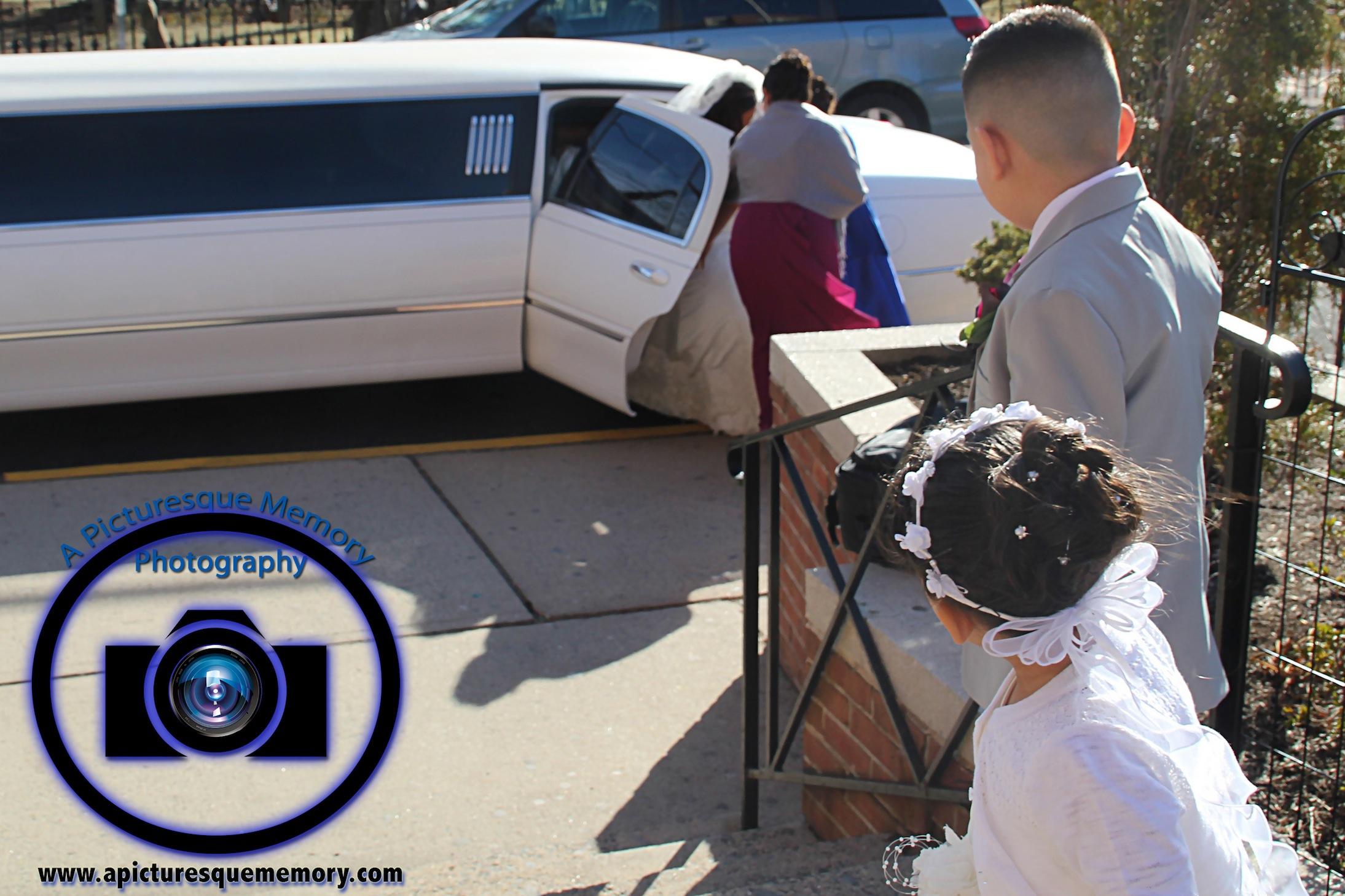 #njwedding, #njweddingphotography, #northbrunswickweddingphotographer#weddingphotos, #apicturesquememoryphotography, #ringbearerandflowergirl, #limo