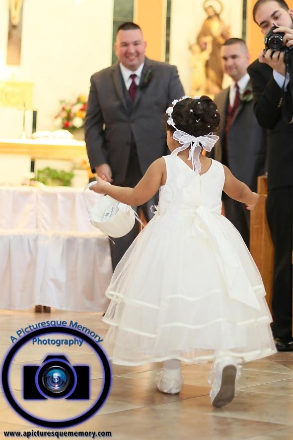 #njwedding, #njweddingphotography, #newbrunswickweddingphotographer#weddingphotos, #apicturesquememoryphotography, #ourladyofmountcarmelweddingphotographer, #weddingceremony, #groomtobe, #flowergirl