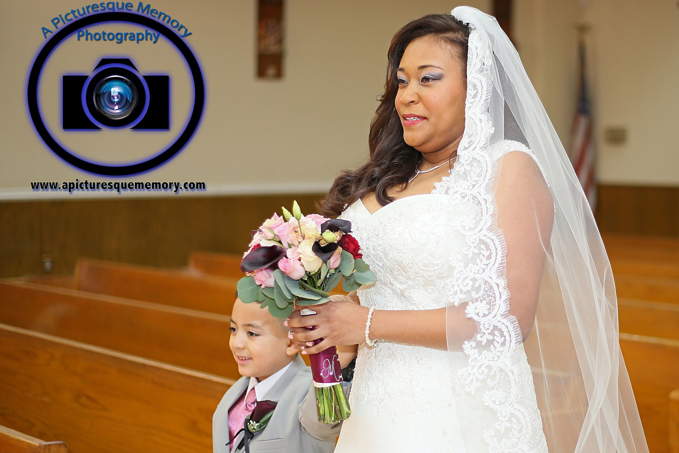 #njwedding, #njweddingphotography, #newbrunswickweddingphotographer#weddingphotos, #apicturesquememoryphotography, #ourladyofmountcarmelweddingphotographer, #weddingceremony, #bride, #bridesbouquet, #bridewalkingdownaisle