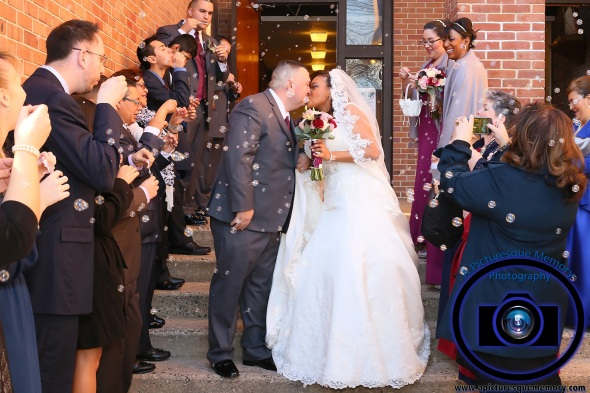#njwedding, #njweddingphotography, #newbrunswickweddingphotographer#weddingphotos, #apicturesquememoryphotography, #ourladyofmountcarmelweddingphotographer, #weddingceremony, #brideandgroomrecessionalbubbles, #brideandgroom