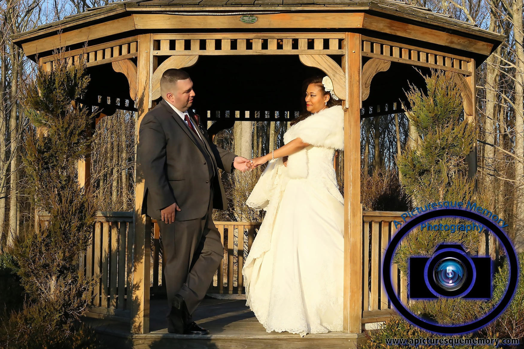 #njwedding, #njweddingphotography, #southbrunswickweddingphotographer#weddingphotos, #apicturesquememoryphotography, #pierresofsouthbrunswickweddingphotographer, #brideandgroom, #gazeebo