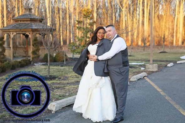 #njwedding, #njweddingphotography, #southbrunswickweddingphotographer#weddingphotos, #apicturesquememoryphotography, #pierresofsouthbrunswickweddingphotographer, #brideandgroom, #greysuit