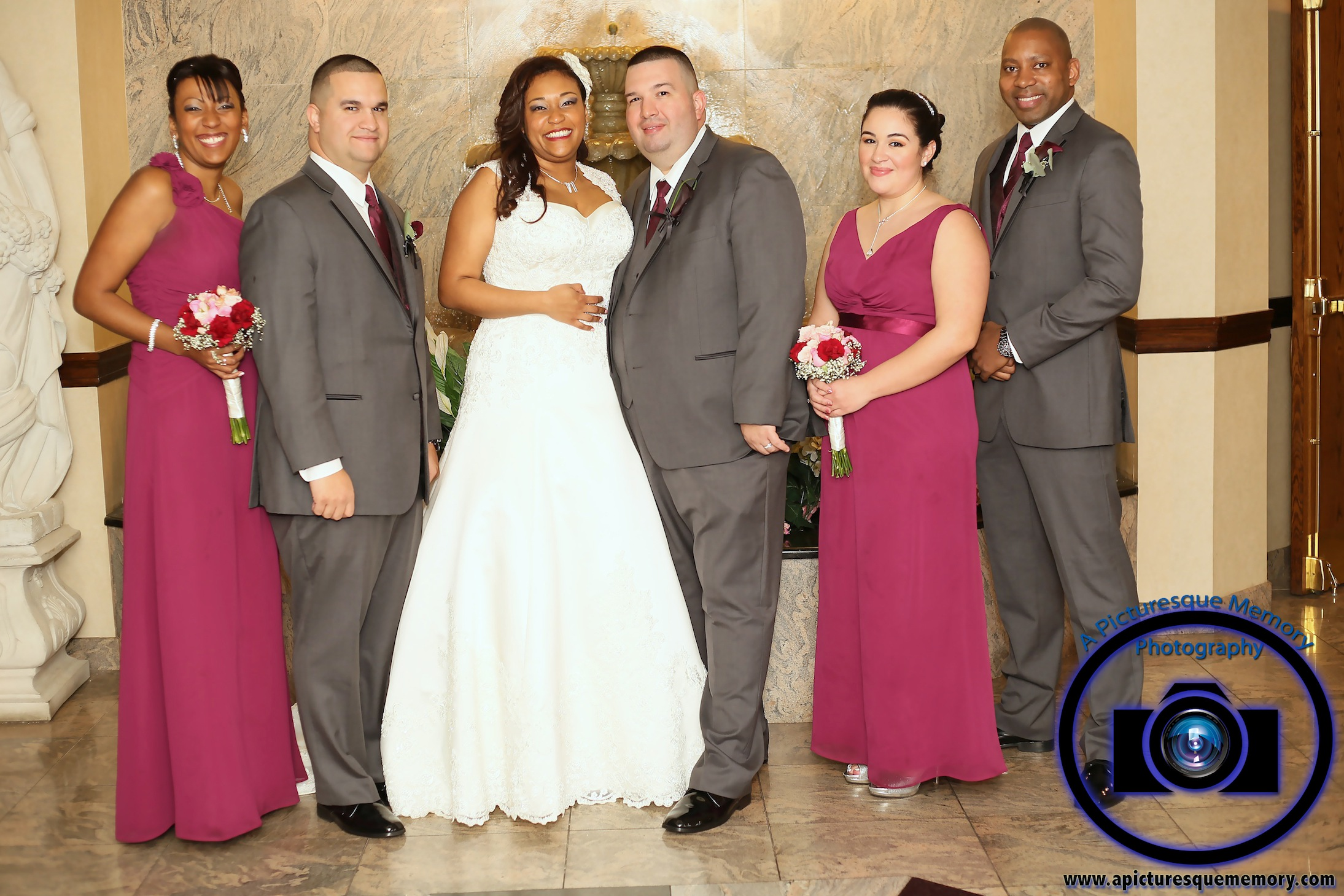#njwedding, #njweddingphotography, #southbrunswickweddingphotographer#weddingphotos, #apicturesquememoryphotography, #pierresofsouthbrunswickweddingphotographer, #bridalparty, #brideandgroom