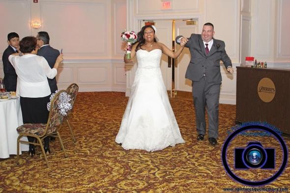 #njwedding, #njweddingphotography, #southbrunswickweddingphotographer#weddingphotos, #apicturesquememoryphotography, #pierresofsouthbrunswickweddingphotographer, #brideandgroomsentrance