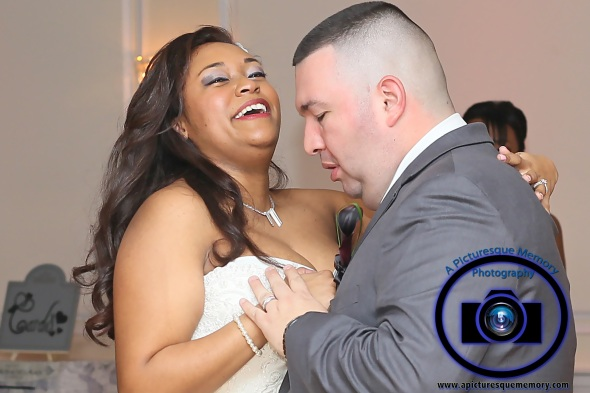 #njwedding, #njweddingphotography, #southbrunswickweddingphotographer#weddingphotos, #apicturesquememoryphotography, #pierresofsouthbrunswickweddingphotographer, #brideandgroomdancing, #firstdance