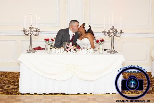 #njwedding, #njweddingphotography, #southbrunswickweddingphotographer#weddingphotos, #apicturesquememoryphotography, #pierresofsouthbrunswickweddingphotographer, #brideandgroomkissing, #mrandmrs