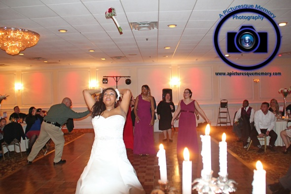 #njwedding, #njweddingphotography, #southbrunswickweddingphotographer#weddingphotos, #apicturesquememoryphotography, #pierresofsouthbrunswickweddingphotographer, #bride, #bouquettoss