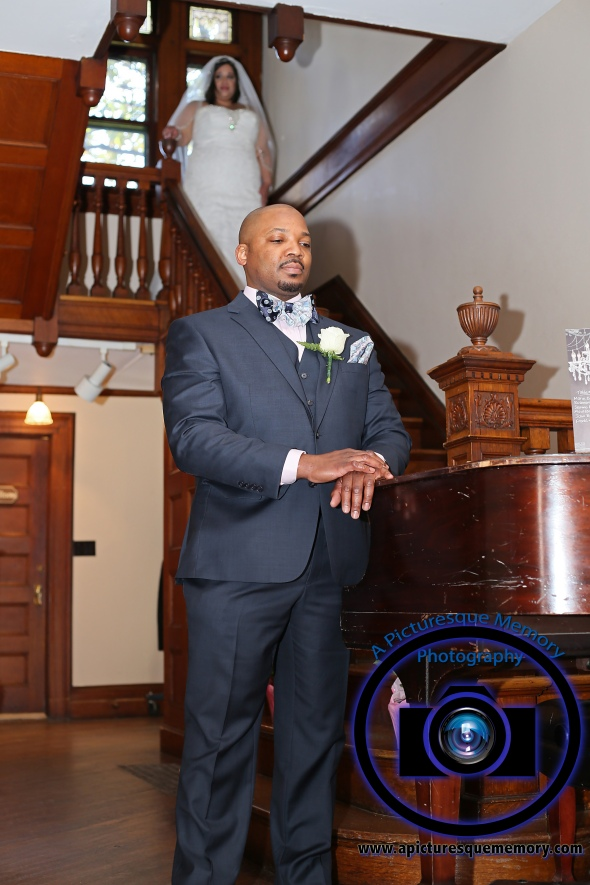 #njwedding, #njweddingphotography, #bloomfieldphotographer, #apicturesquememoryphotography, #oaksidemansionwedding, #oaksidebloomfieldculturalcenter, #weddingphotos, #groomtobe, #bridegroomfirstlook