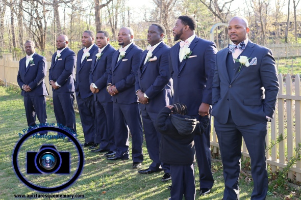 #njwedding, #njweddingphotography, #bloomfieldphotographer, #apicturesquememoryphotography, #oaksidemansionwedding, #oaksidebloomfieldculturalcenter, #weddingphotos, #outsidewedding, #groomsmen, #greytuxedo