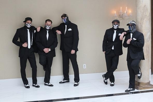 GrandMarquisWedding, njweddingphotos, njweddingphotography, njweddingphotographer, oldbridgephotographer, apicturesquememoryphotography, wedding, weddinginspiration, groomtobe, groomsmen, blacktuxedo, bandana, skullbandanas