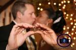 bride and groom kiss at bridgewater manor wedding photos by NJ wedding photographer apicturesquememoryphotography