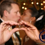 bride and groom kiss at bridgewater manor wedding photos by NJ wedding photographer apicturesquememoryphotography